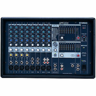 Yamaha EMX312SC 12 Channel 300W Powered Mixer with SPX Effec