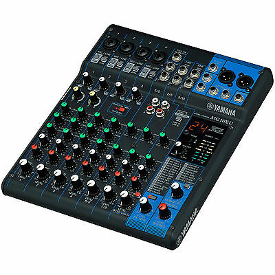 Yamaha MG10XU 10 Channel USB Stereo Mixing Console with SPX