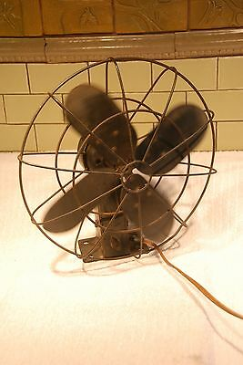 Westinghouse Vintage Fan Black Electric WORKS great