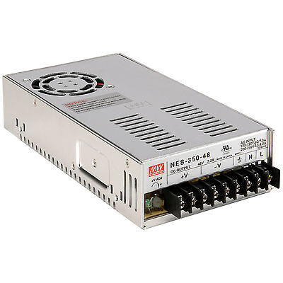 Mean Well MW NES-350-48 48 VDC 7.3A 350W Regulated Switching Power Supply
