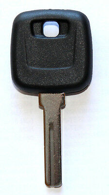 New For Volvo S60 S80 Xc90 V70 Master Transponder Uncut Chipped Key Blank