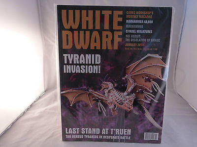 White Dwarf January 2014 - Features Tyranids (Sealed)