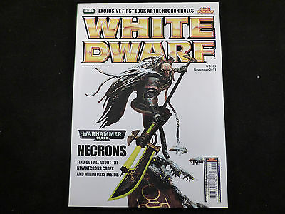 White Dwarf November 2011 - WD383 - Features Necrons