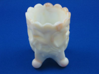 Custard Glass Toothpick, egg cup, trinket holder - ship at cost
