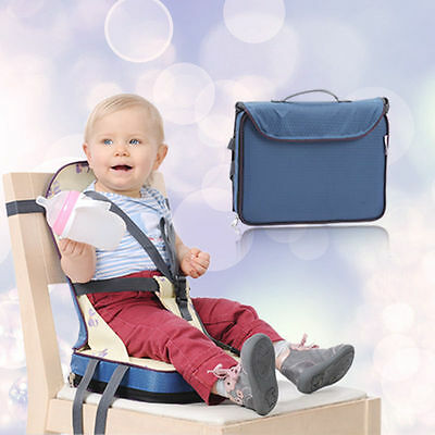CYB  Portable Foldable Travel Baby Dining Chair Booster Seat Bag Feeding  Harness
