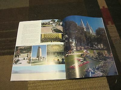 Vintage Utah Discovery Country Travel Brochure Illustrated 46 pages
