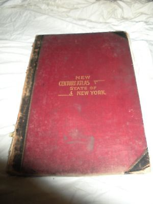 New Century Atlas State of New York - Everts Publishing Co. 1911 COMPLETE!