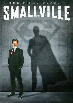 Smallville: The Final Season 10 (DVD, 2011 6-Disc) Region 1 BRAND NEW FREE SHIP