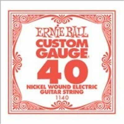 Ernie Ball Nickel Wound Electric Guitar String, 44