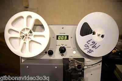 3,200 FT 8MM, SUPER 8 &16MM MOVIE FILM TRANSFER TO DVD OR QUICKTIME FILES