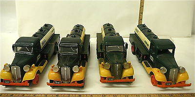 Lot of 1980 Hess Oil Delivery Truck First Hess Banks  + Hess Oil Delivery Trucks