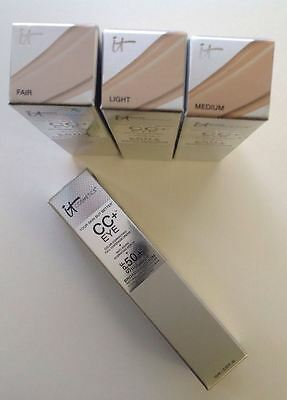 it Cosmetics CC+ Eye Color Correcting Full coverage Cream YOU CHOOSE YOUR SHADE