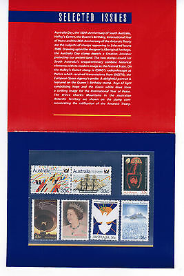 1986 Selected Issues     Presentation Pack MUH