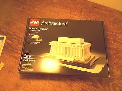 NEW Lego Architecture: The Lincoln Memorial (Newly added Item!)