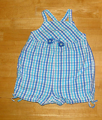 NWT Gymboree Tiny Pond 6-12 Months Butterfly Bodysuit /& Gingham Romper Overalls