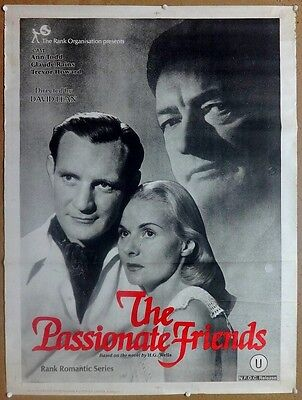 The Passionate Friends 1949 Ann Todd 30'' x 40'' India poster in English