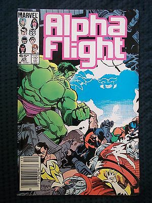 OPC Marvel Comics 1985 Vol 1 #29 ALPHA FLIGHT