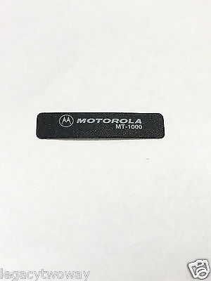 Motorola MT1000 Nameplate Front Label Repacement Model 3305260Q01