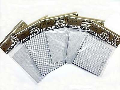 Hi Tack Black Square Foam Pads Assorted Sizes Your Choice New