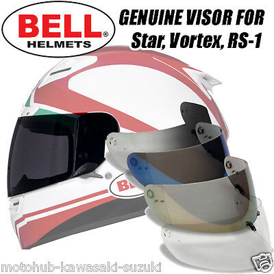 Bell 15 Vortex/Star/Revolver EVO/RS-1/Qualifier Shield Visor Motorcycle Helmet