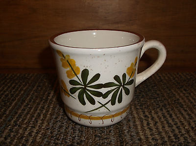 Stangl Pottery Trenton, NJ Golden Blossom Coffee Tea Cup Mug