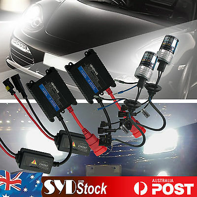 12v Xenon HID Kit For Holden Commodore VE Low Beam Headlights 55w H7 6000k