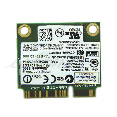 HOT! Ultimate-N 6300 633ANHMW FRU 60Y3233 Wireless Card for IBM Thinkpad Intel