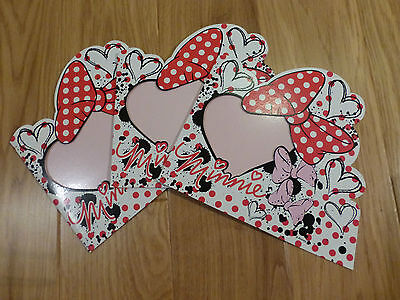 Minnie Mouse 1D Photoframes 22cm x 20cm - Ideal Party Bags / Small Presents