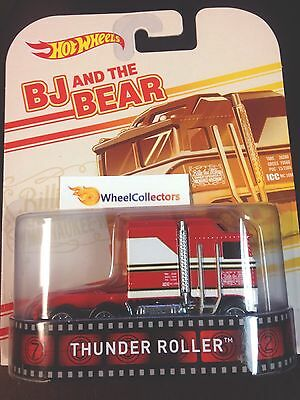 Bj And The Bear Thunder Roller * IN STOCK * 2014 Hot Wheels F Retro Ent