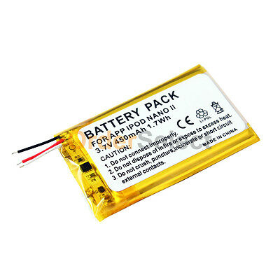 NEW Replacement Battery for Apple iPod Nano 2 2nd Gen MP3 2GB 4GB 8GB 200+SOLD