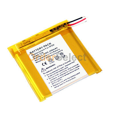 NEW Replacement Battery for Apple iPod Nano 3 3rd Gen MP3 4GB 8GB 16GB 200+SOLD