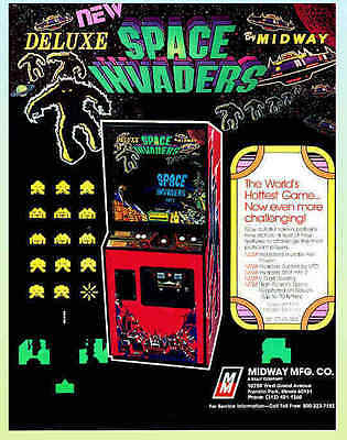 Space Invaders Deluxe, 1979 Midway Flyer