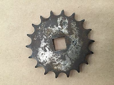 "18 Tooth Cushman Output Sprocket 9/16"" Square Hole"
