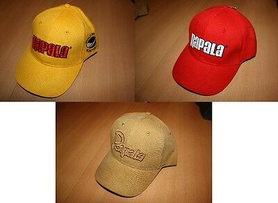 Brand New Rapala Baseball Cap - All Colours Available