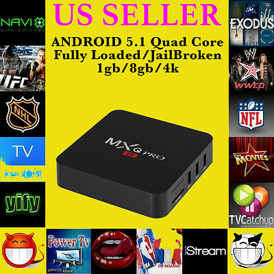 ANDROID 4.2 MX2 SMART TV Box Fully Loaded/Unlocked XBMC/KODI 14.2 Watch Anything