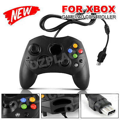 Premium New Wired Pad Game Controller For PC Microsoft Original Xbox Gamepad