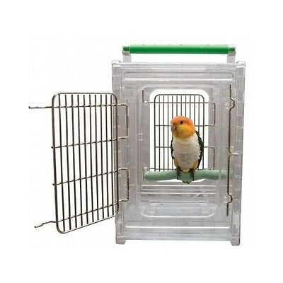 Bird Carrying Cage Car Travel Airplane Parrot Conure Cockatail Cockatoo Canary