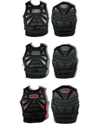 NEIL PRYDE OPTION Wakeboard Jetski Waterski Neoprene Impact Jacket Body Armour