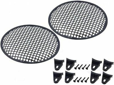 """12"""" Speaker Grill.   pair of square holes  ( UK MADE )"""
