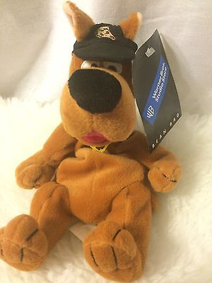 Warner Brothers Studio Store Scooby Doo Bean Bag Collectible Pizza Hat Scooby