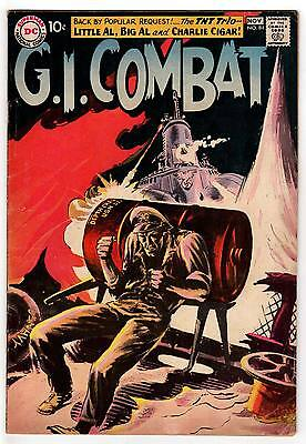 G.i. Combat #84 4.0 Off-White To White Pages Silver Age Wash/greytone Cover