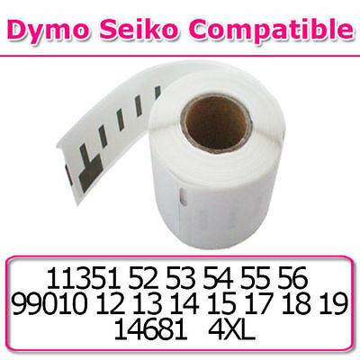 Dymo Seiko Compatible Roll Label Address Invoice Labels Sticky Self Adhesive New