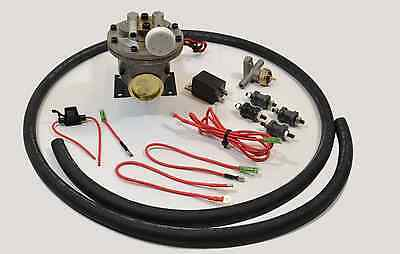 12 Volt Electric Vacuum Pump Brake Booster Vacuum Pump New Hot Rod Bbc Sbc