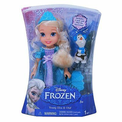 Disney Frozen Young Elsa & Olaf Toys R Us Exclusive The Snow Queen and Anna