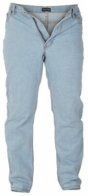 Cotton Rich Comfort Fit Light Washed Blue Jeans(Sky)By Rockford,w30-W40, L26-34