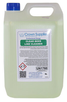 Crown Supplies Sterilising Beer Line Cleaner 5L