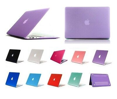 """Plastic Crystal Hardshell Hard Case Cover For New Apple Mac Book Air 11.6"""" 13.3"""""""