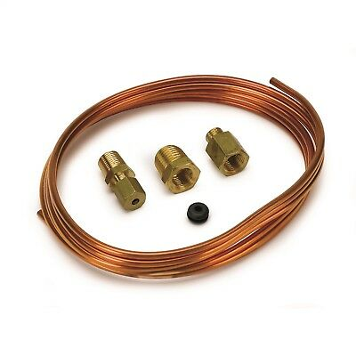 "AutoMeter 3224 1/8"" Copper Tubing 6ft. Kit With Compression/Adapter Fittings"