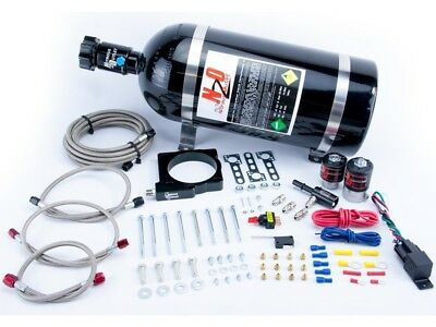Nitrous Outlet Wet Plate Nitrous Kit - 5.7/6.1L Hemi 80mm Plate 50-200HP Jetting
