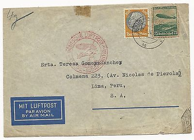 Germany Scott #C58 #431 on Cover Via Air Mail to USA September 12, 1936
